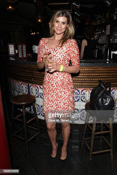 Kim Tiddy attends the Beautiful Thing press night after party at Salvador and Amanda on April 17 2013 in London England