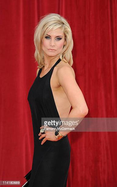 Kim Tiddy attends 'The British Soap Awards' at Granada Television Studios on May 14 2011 in Manchester England