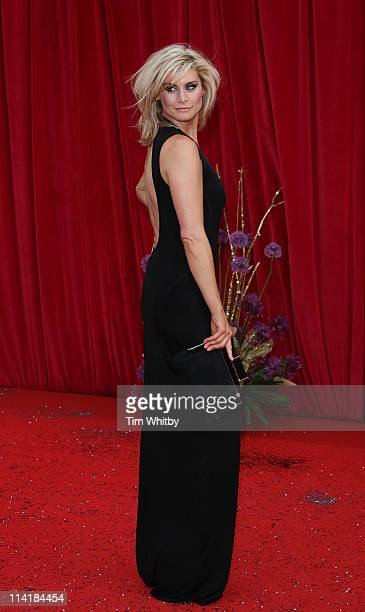Kim Tiddy attends The British Soap Awards at Granada Television Studios on May 14 2011 in Manchester United Kingdom