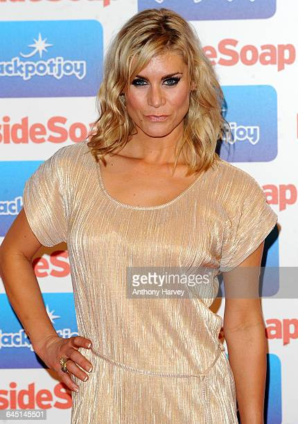Kim Tiddy attends the Inside Soap Awards 2011 at Gilgamesh on September 26 2011 in London