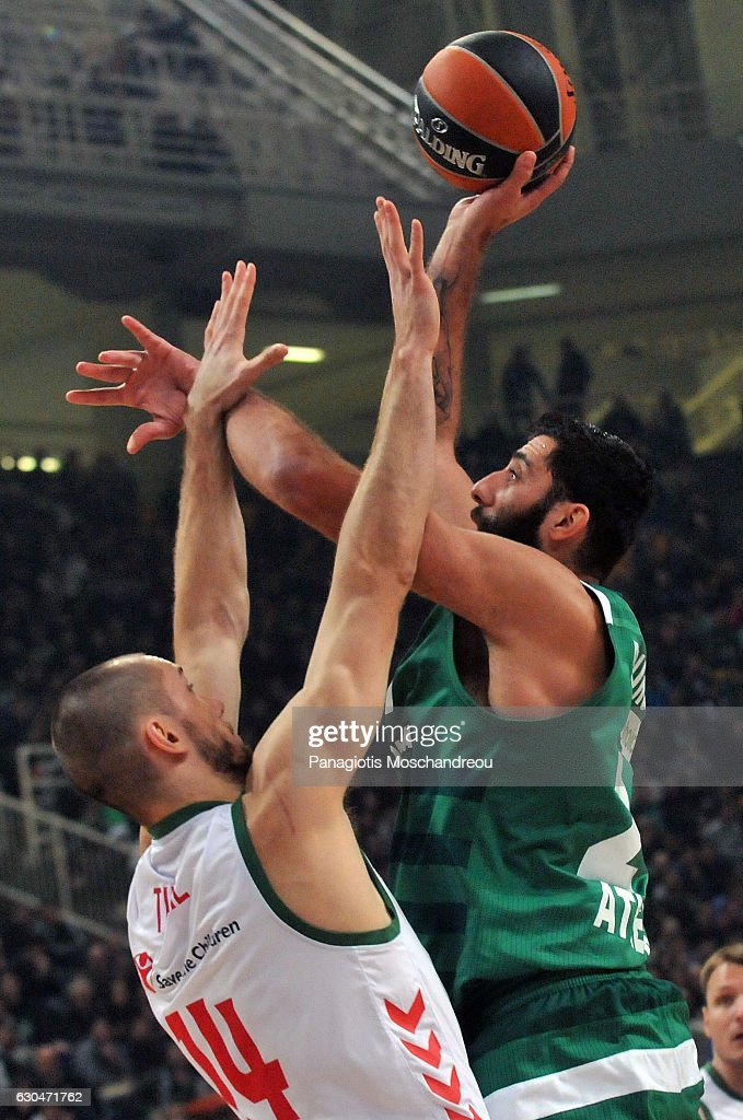 Panathinaikos Superfoods Athens v Baskonia Vitoria Gasteiz - Turkish Airlines Euroleague