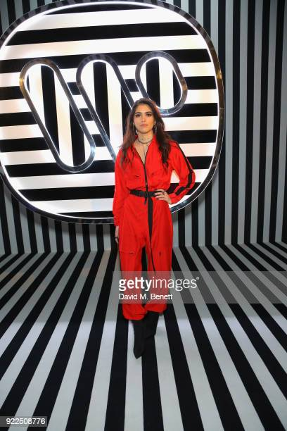 Kim Turnbull attends the Brits Awards 2018 After Party hosted by Warner Music Group Ciroc and British GQ at Freemasons Hall on February 21 2018 in...