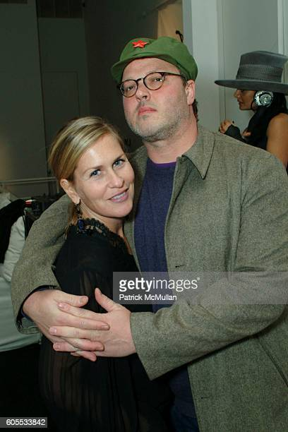 Kim Vernon and Todd Eberle attend Yvonne Force Villareal Birthday Celebration at Stephen Weiss Studio on January 31 2006 in New York City