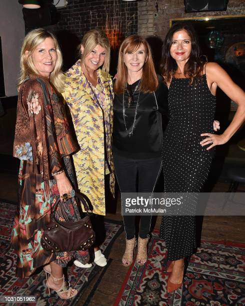 Kim Vernon Marcy Warren Nicole Miller and Jill Hennessy attend the Nicole Miller Spring 2019 After Party at Acme on September 6 2018 in New York City