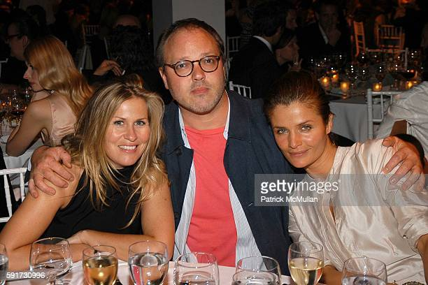 Kim Vernon Todd Eberle and Helena Christensen attend ICP 21st Annual Infinity Awards at Skylight on May 10 2005 in New York City