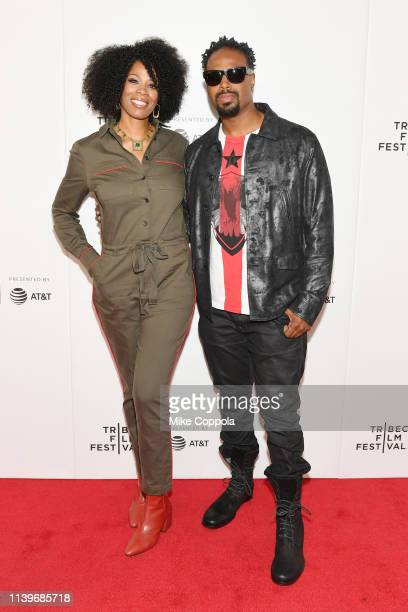 Kim Wayans and Shawn Wayans attend the Tribeca TV In Living Color 25th Anniversary Reunion during the 2019 Tribeca Film Festival at Spring Studio on...