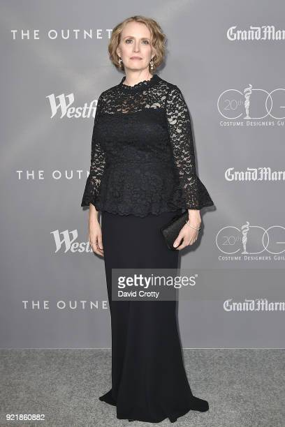 Kim Wilcox attends the 20th CDGA Arrivals on February 20 2018 in Beverly Hills California