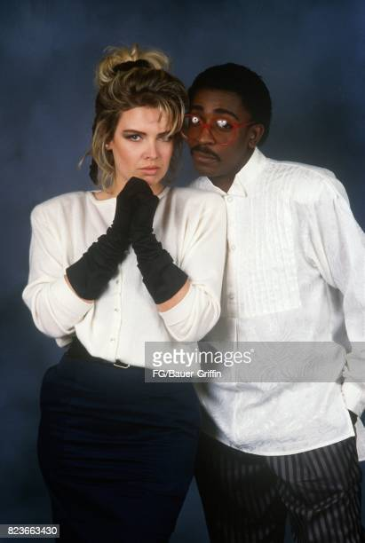 Kim Wilde and Junior they recorded Another Step together on July 02 1988 in London United Kingdom 170612F1