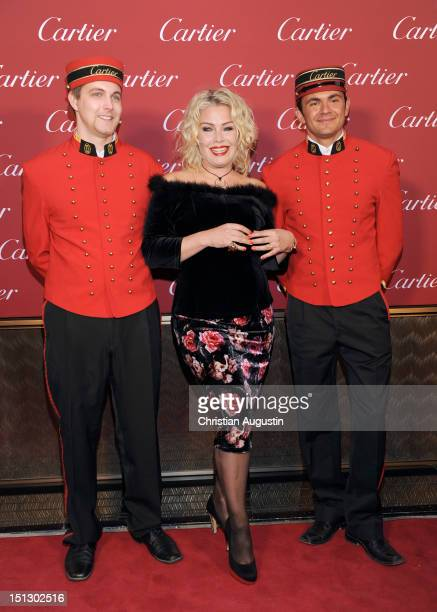 Kim Wilde attends Cartier Boutique ReOpening Party on September 5 2012 in Hamburg Germany