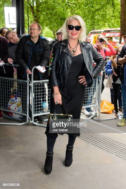 Kim Wilde attends the Ivor Novello Awards at Grosvenor House on May 18 2017 in London England