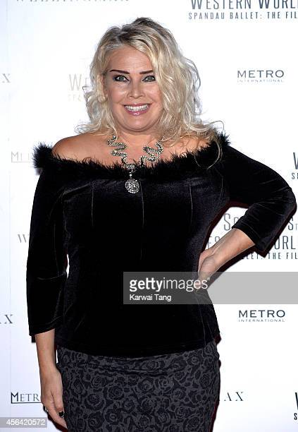 Kim Wilde attends the World Premiere of Soul Boys Of The Western World at Royal Albert Hall on September 30 2014 in London England