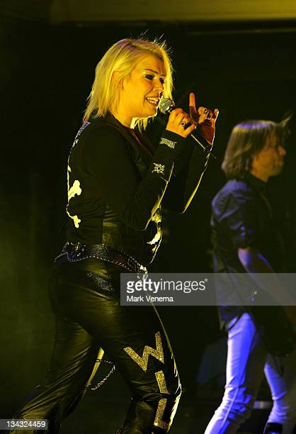 Kim Wilde during Kim Wilde in Concert at the Paradiso February 22 2007 at The Paradiso in Amsterdam Netherlands