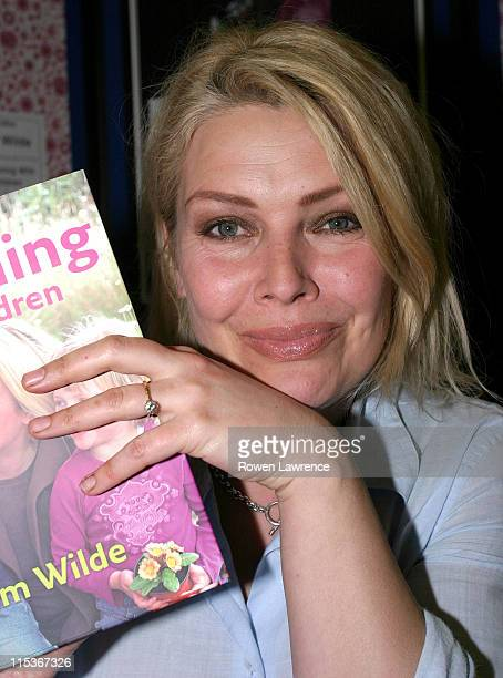 Kim Wilde during Kim Wilde Signs Her Book 'Gardening with Children' at Ottakar's Book Store in Milton Keynes at Ottakar's Book Store in Milton Keynes...