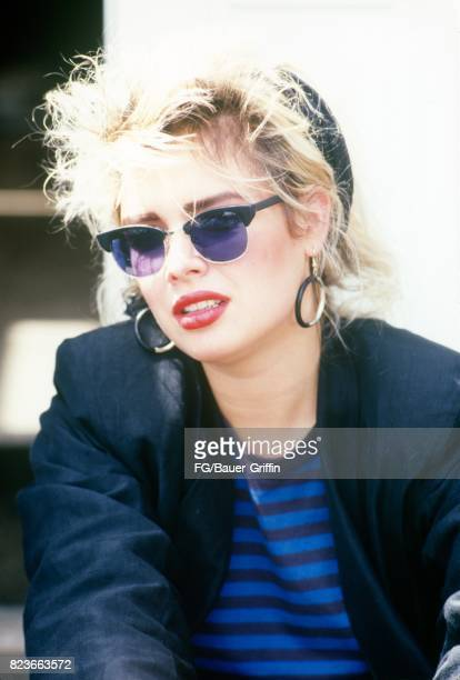 Kim Wilde outside her new apartment in St John's Wood London on September 13 1982 in London United Kingdom 170612F1