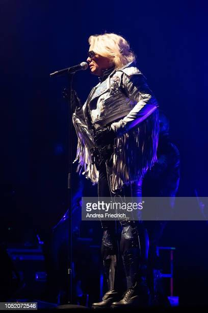 Kim Wilde performs live on stage during a concert at Columbiahalle Berlin on October 13 2018 in Berlin Germany