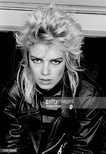 Kim Wilde poses for a portrait in September 1982 in Copenhagen Denmark