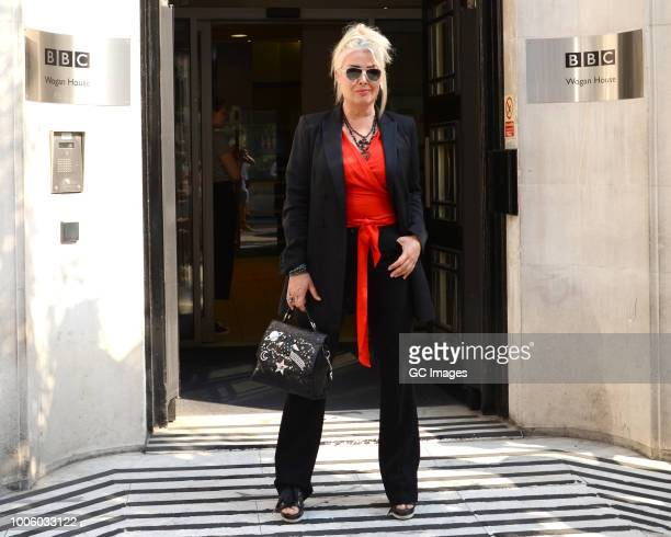 Kim Wilde seen at BBC Radio 2 on July 27 2018 in London England