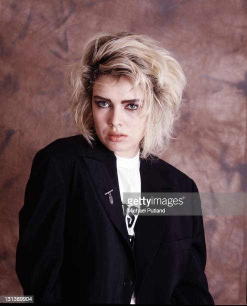 Kim Wilde studio portrait London 1987