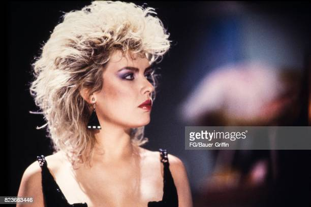 Kim Wilde with big hair on September 13 1982 in London United Kingdom 170612F1