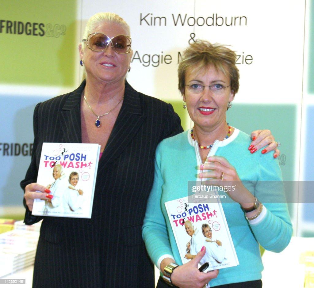 "Kim Woodburn and Aggie MacKenzie Launch Their New Book ""Too Posh to Wash"" : News Photo"