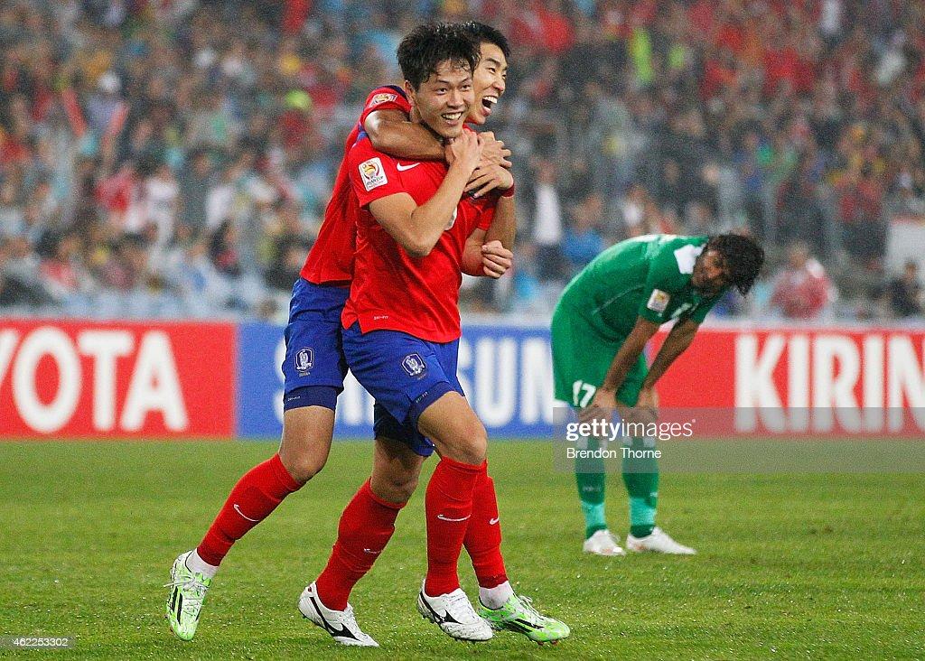 Korea Republic v Iraq: Semi Final - 2015 Asian Cup - Sydney : News Photo