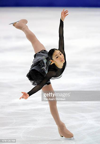 Kim Yuna of South Korea competes in the ladies free program during day seven of the 2011 World Figure Skating Championships at Megasport Ice Rink on...