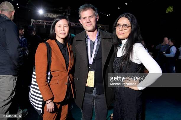 Kim Yutani John Nein and Dilcia Barrera attend the 2020 Sundance Film Festival Awards Night Party at Basin Recreation Field House on February 01 2020...