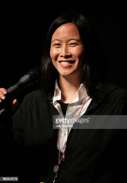 ec8c3ee5964 Kim Yutani speaks at the Douche Bag Premiere during the 2010 Sundance Film  Festival at Racquet