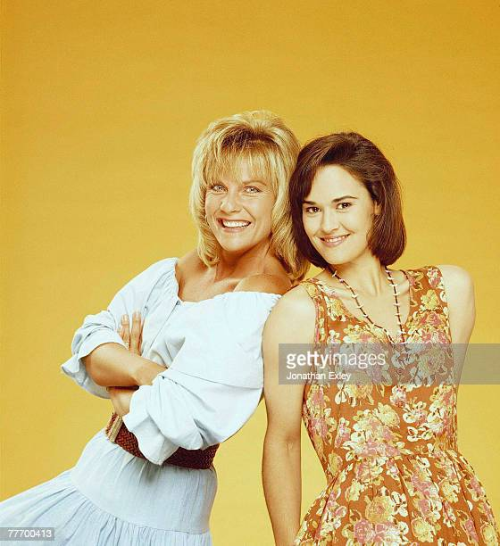 Kim Zimmer and Sydney Penny 08/00/1992 Various Jonathan Exley Celebrity Archives