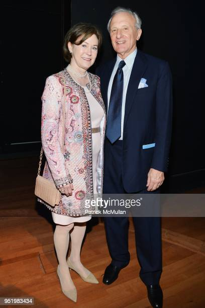 Kimba Wood And Frank Richardson Attend Lincoln Center  Fall Gala Honoring Russell L Carson At