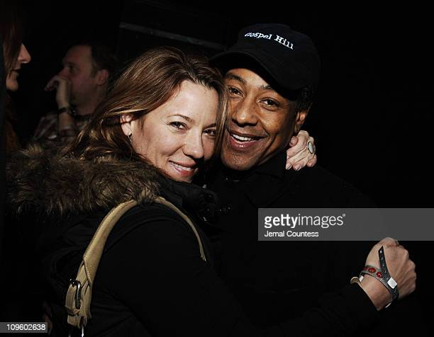 Kimball Brown and Giancarlo Esposito during 2006 Park City Motorola/UbiSoft Late Night Lounge at 515 Main Street in Park City Utah United States