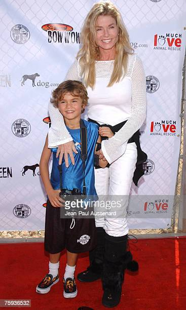 Kimber Sissons and son Dylan