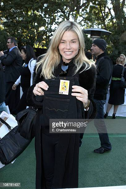 Kimber Sissons during Showtime Hosts the Annual PreGolden Globes Gift House Day 1 at The Cooley Estate in Los Angeles CA United States