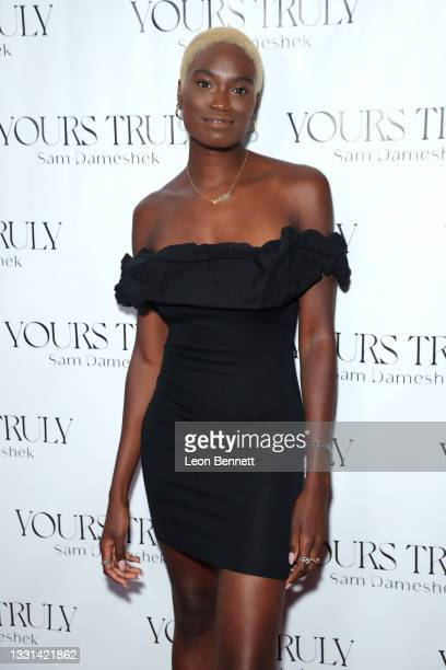 """Kimberlee Howe attends Celebrity Photographer Sam Dameshek's Black Tie Book Release Event For """"Yours Truly"""" at Fellow on July 29, 2021 in Los..."""