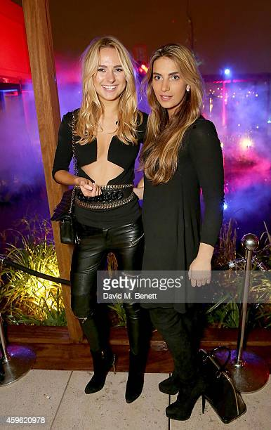 """Kimberley Garner and Harriet Loder attend an exclusive party to celebrate the imminent arrival of """"City Island by Ballymore"""" - a new island..."""