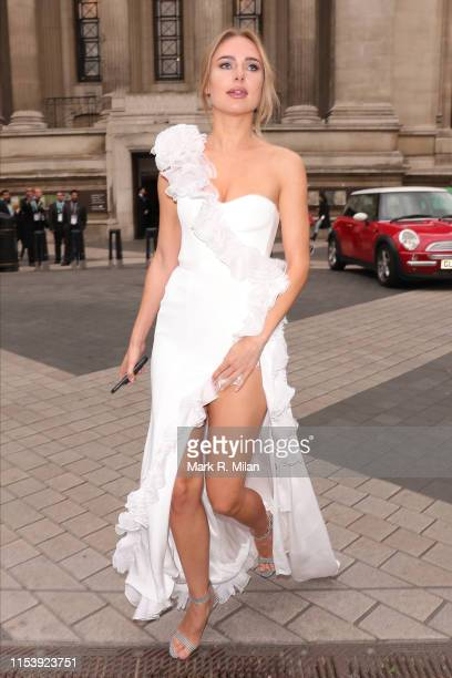Kimberley Garner attending the Cash and Rocket Masquerade ball at the Victoria and Albert Museum on June 05 2019 in London England