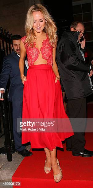 Kimberley Garner attending the Cosmopolitan Ultimate Women Of The Year Awards on December 3 2014 in London England