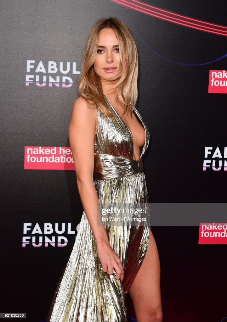 Kimberley Garner attending the Naked Heart Foundation Fabulous Fun dFair held at The Roundhouse in Chalk Farm, London.