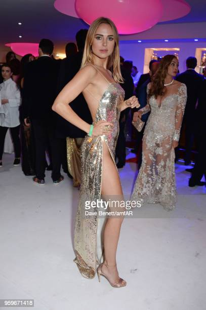 Kimberley Garner attends the amfAR Gala Cannes 2018 after party at Hotel du CapEdenRoc on May 17 2018 in Cap d'Antibes France