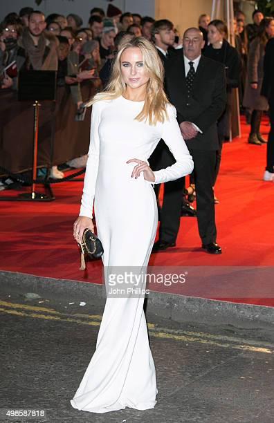 Kimberley Garner attends the British Fashion Awards 2015 at London Coliseum on November 23 2015 in London England