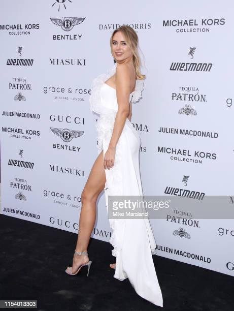 Kimberley Garner attends the Cash Rocket Gala at Victoria Albert Museum on June 05 2019 in London England