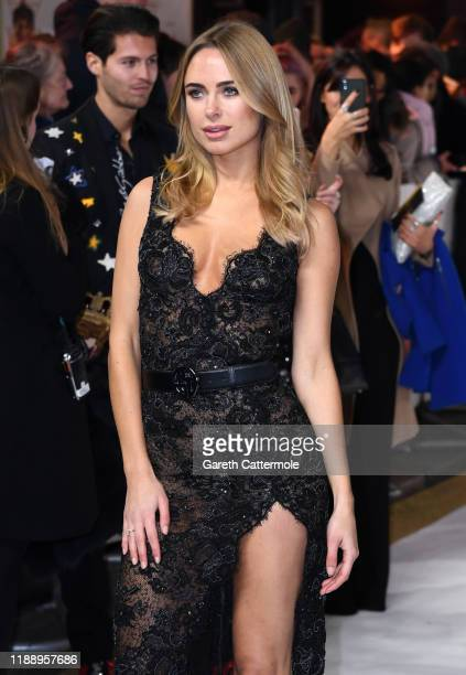 Kimberley Garner attends the Charlies Angels UK Premiere at The Curzon Mayfair on November 20 2019 in London England