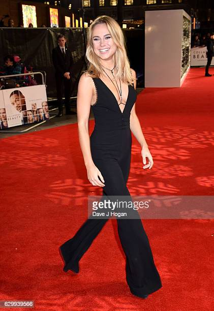 Kimberley Garner attends the European Premiere of Collateral Beauty at Vue Leicester Square on December 15 2016 in London England