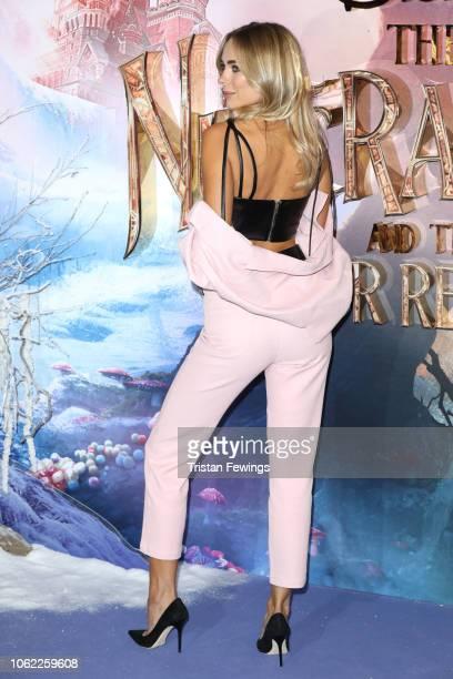 Kimberley Garner attends the European Premiere of Disney's 'The Nutcracker' at Vue Westfield on November 01 2018 in London England