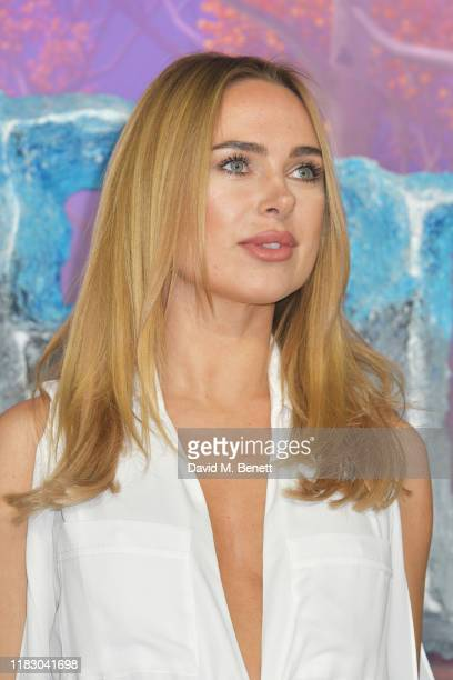 Kimberley Garner attends the European Premiere of Frozen 2 at the BFI Southbank on November 17 2019 in London England