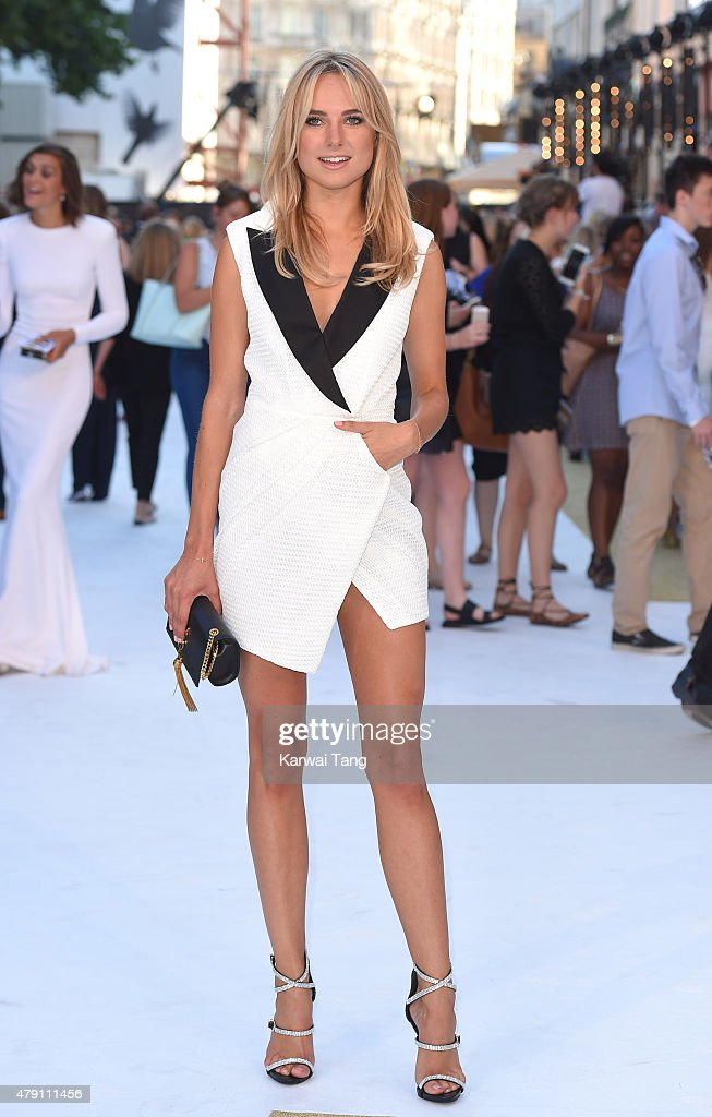Kimberley Garner attends the European Premiere of 'Magic Mike XXL' at Vue West End on June 30, 2015 in London, England.