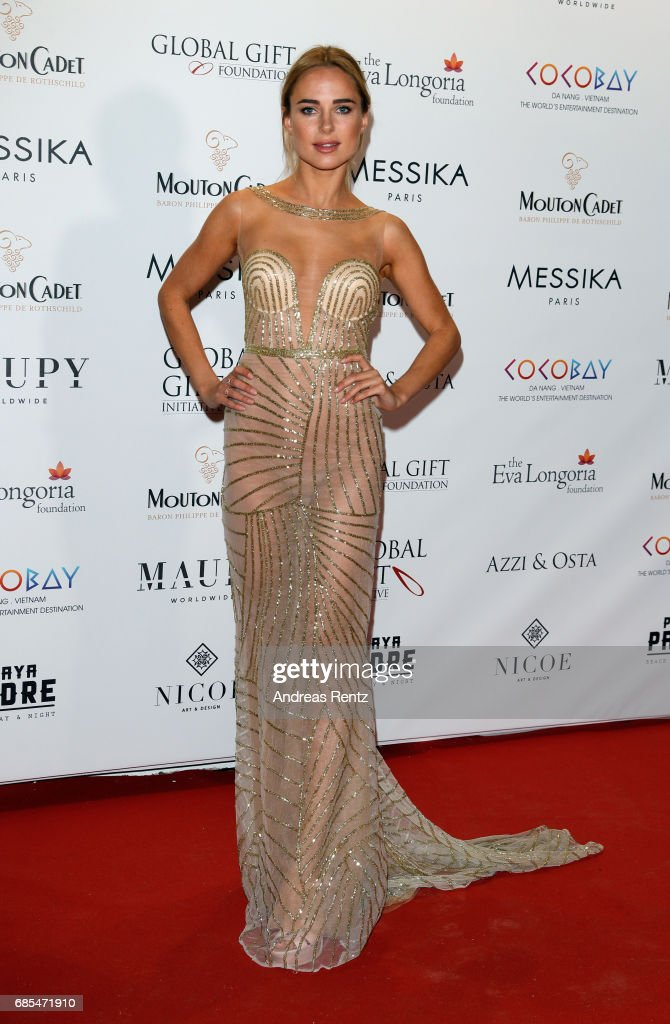 Eva Longoria Global Gift Gala - The 70th Annual Cannes Film Festival