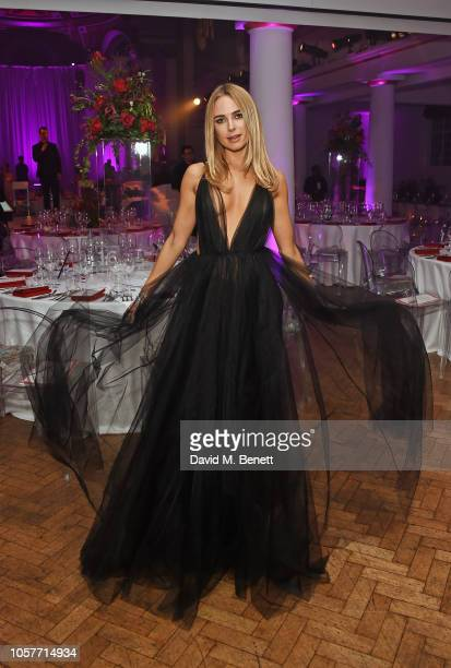 Kimberley Garner attends The Floral Ball 2018 in aid of The Sheba Medical Centre at One Marylebone on November 5 2018 in London England
