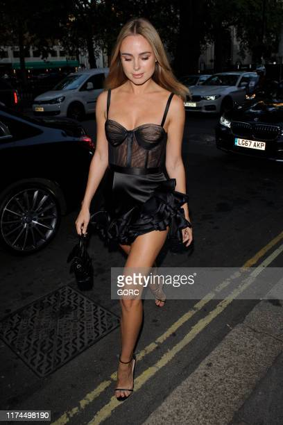 Kimberley Garner attends the Gyunel Couture party at Annabel's private club during LFW September 2019 on September 13 2019 in London England
