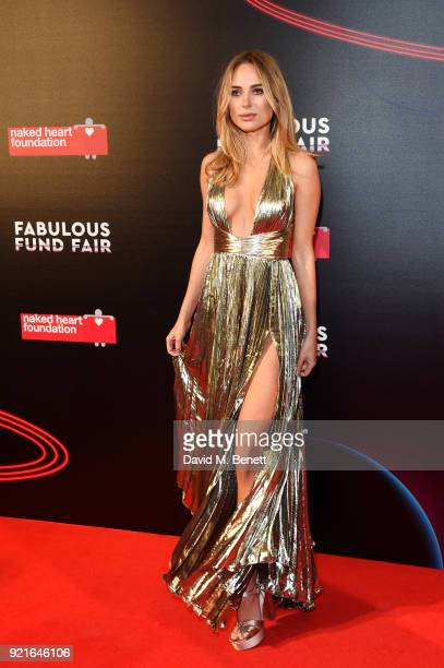 Kimberley Garner attends the Naked Heart Foundation's Fabulous Fund Fair at The Roundhouse on February 20 2018 in London England